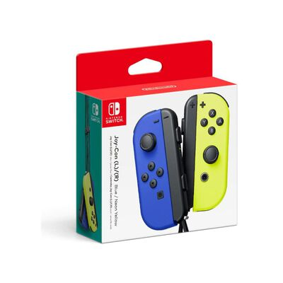 Control Nintendo Switch Joy/l R Blue Neon Yellow