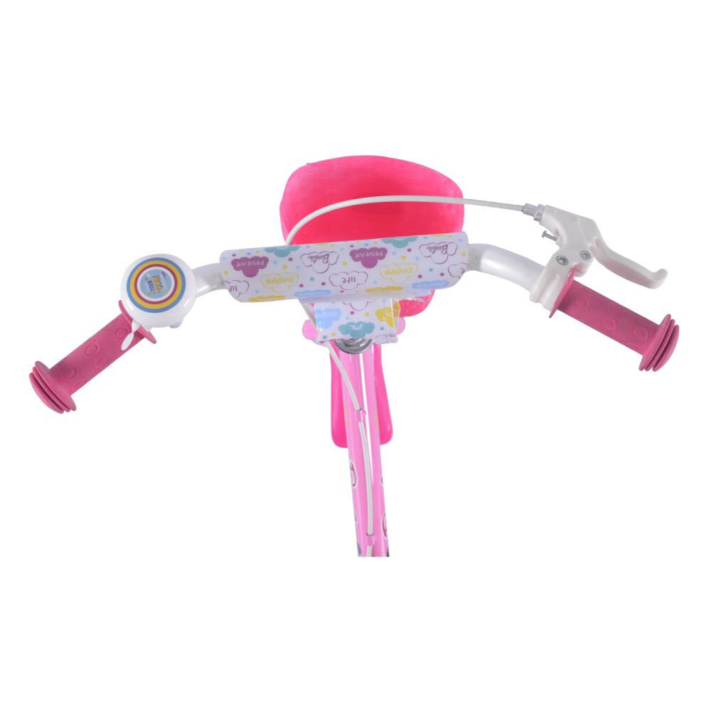Bicicleta Infantil Bianchi Barbie 12 / Aro 12 image number 3.0