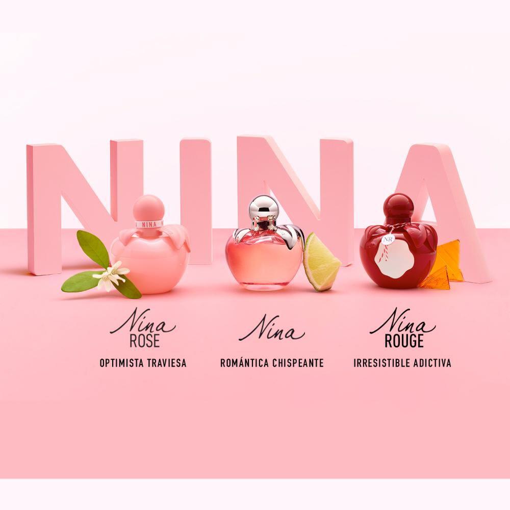 Perfume Nina Rose Nina Ricci / 80 Ml / Edt image number 6.0