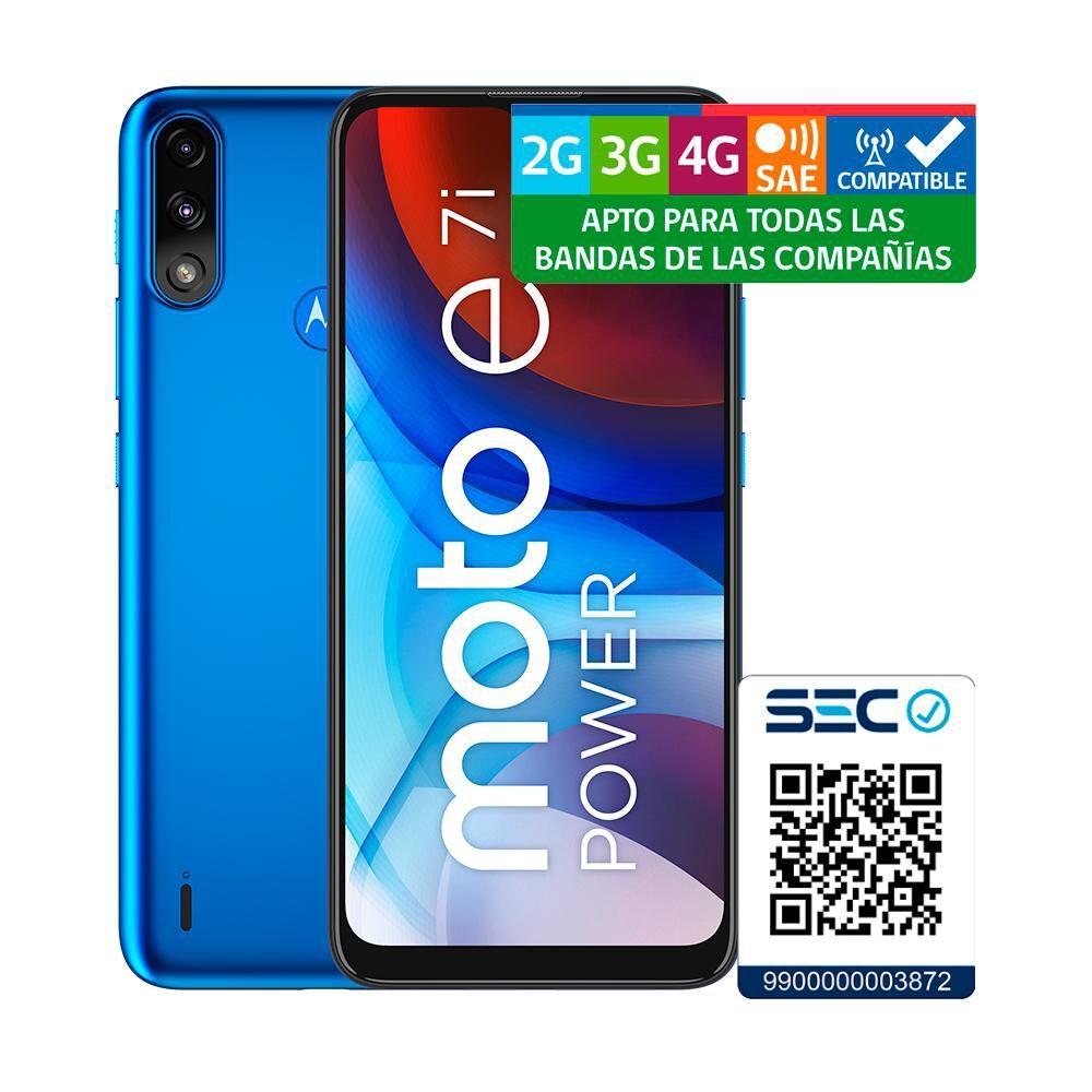 Smartphone Motorola E7i Power Azul / 32 Gb / Movistar image number 10.0