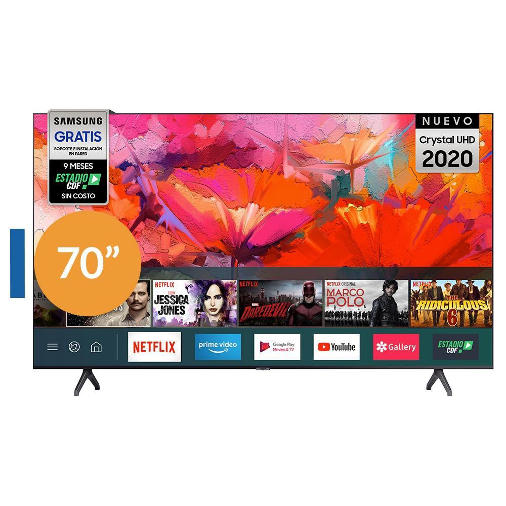 """Led Samsung Un70 / 70"""" / Ultra Hd / 4k / Smart Tv image number 0.0"""