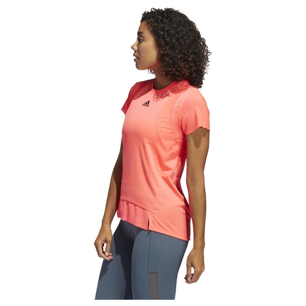 Polera Mujer Adidas De Entrenamiento Heat.rdy image number 1.0