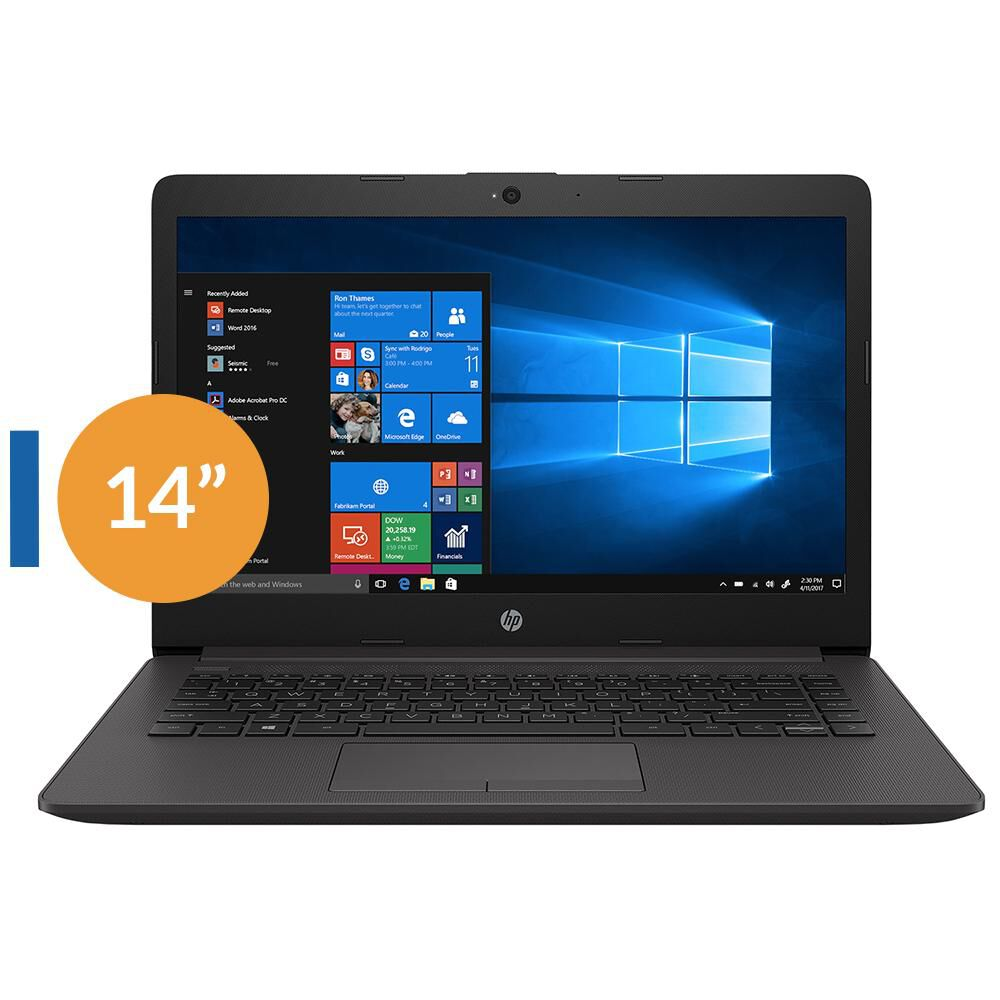 "Notebook Hp 240 G7 / Intel Core I3 / 4 GB RAM / 1 TB / 14"" image number 0.0"