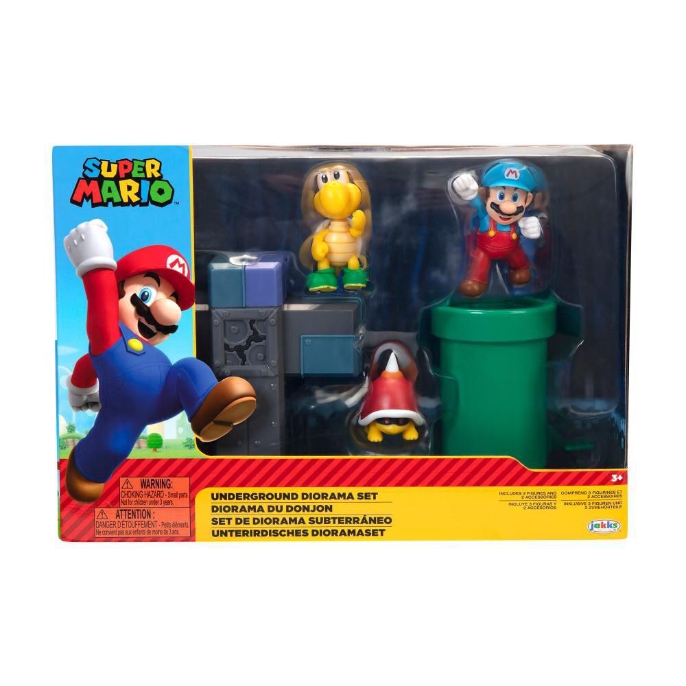 Figura Coleccionable Nintendo Diorama Super Mario Underground image number 0.0