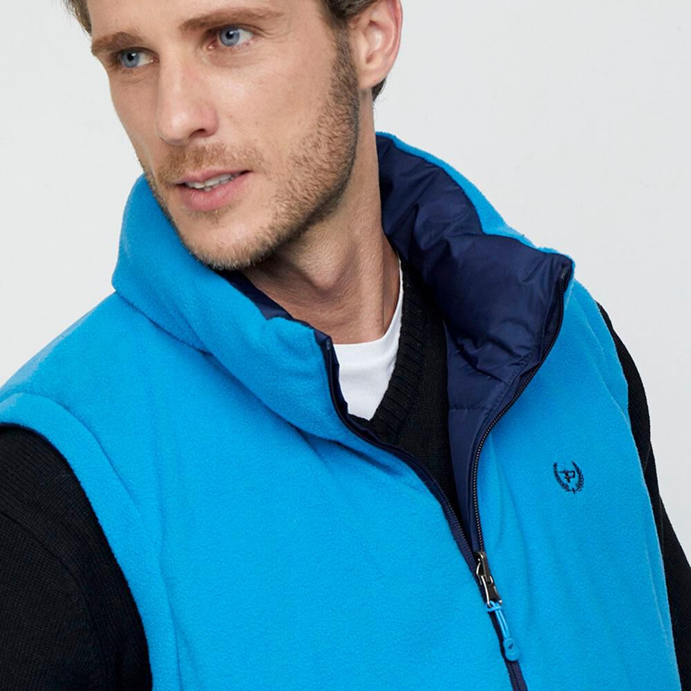 Parka Sin Mangas Reversible Hombre Peroe image number 6.0