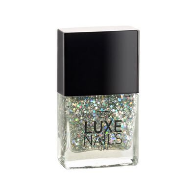 Esmalte Color Natural Petrizzio Glitter  / Silver