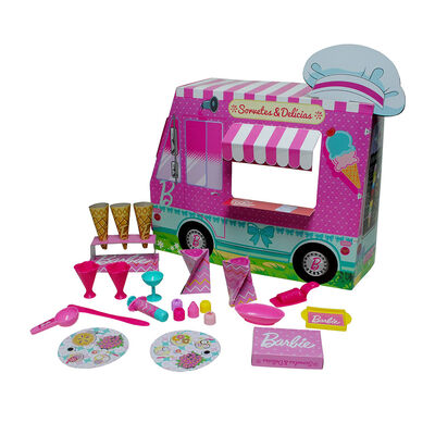 Set De Masas Barbie Camión De Helados