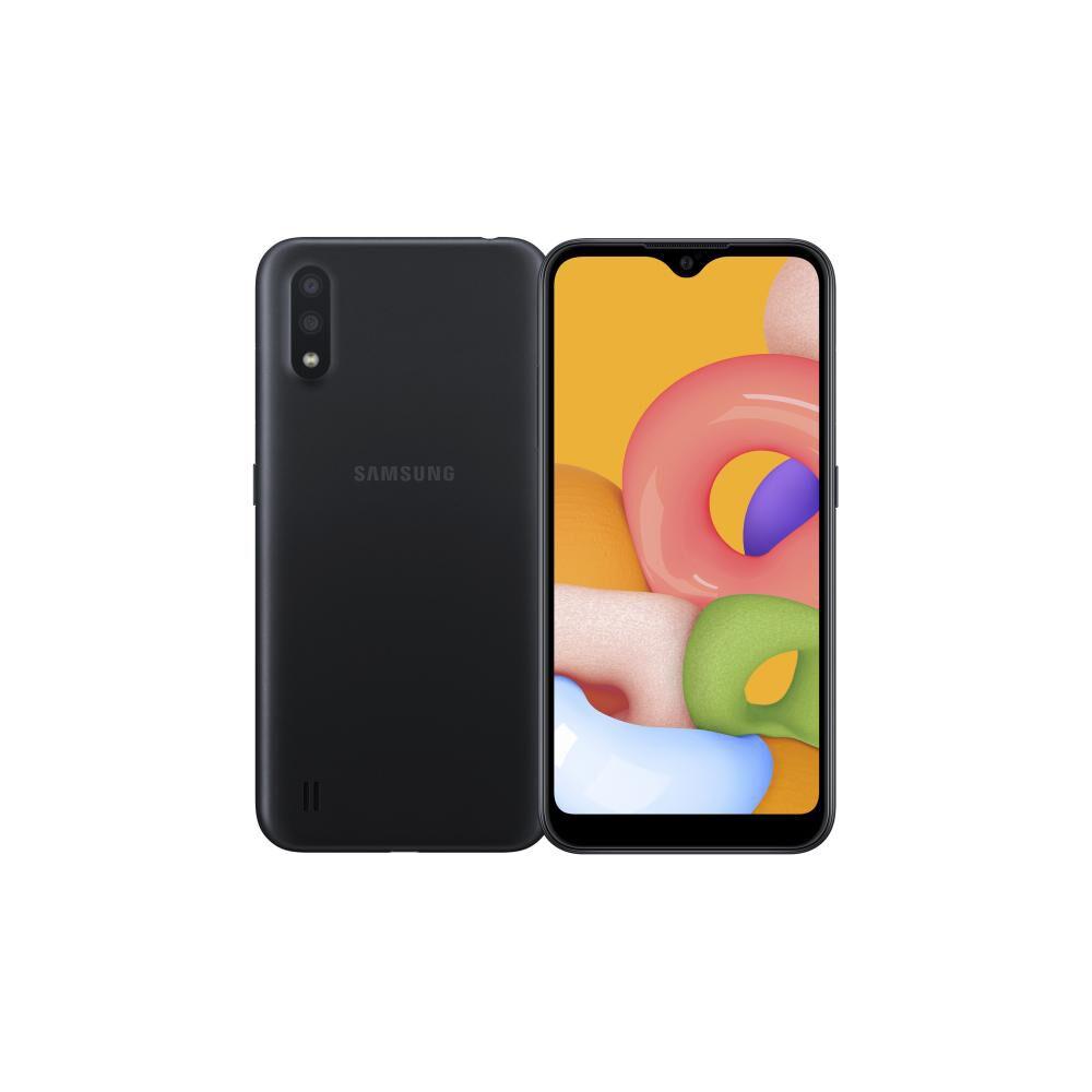 Smartphone Samsung Galaxy A01 Negro / 32gb / Liberado image number 0.0