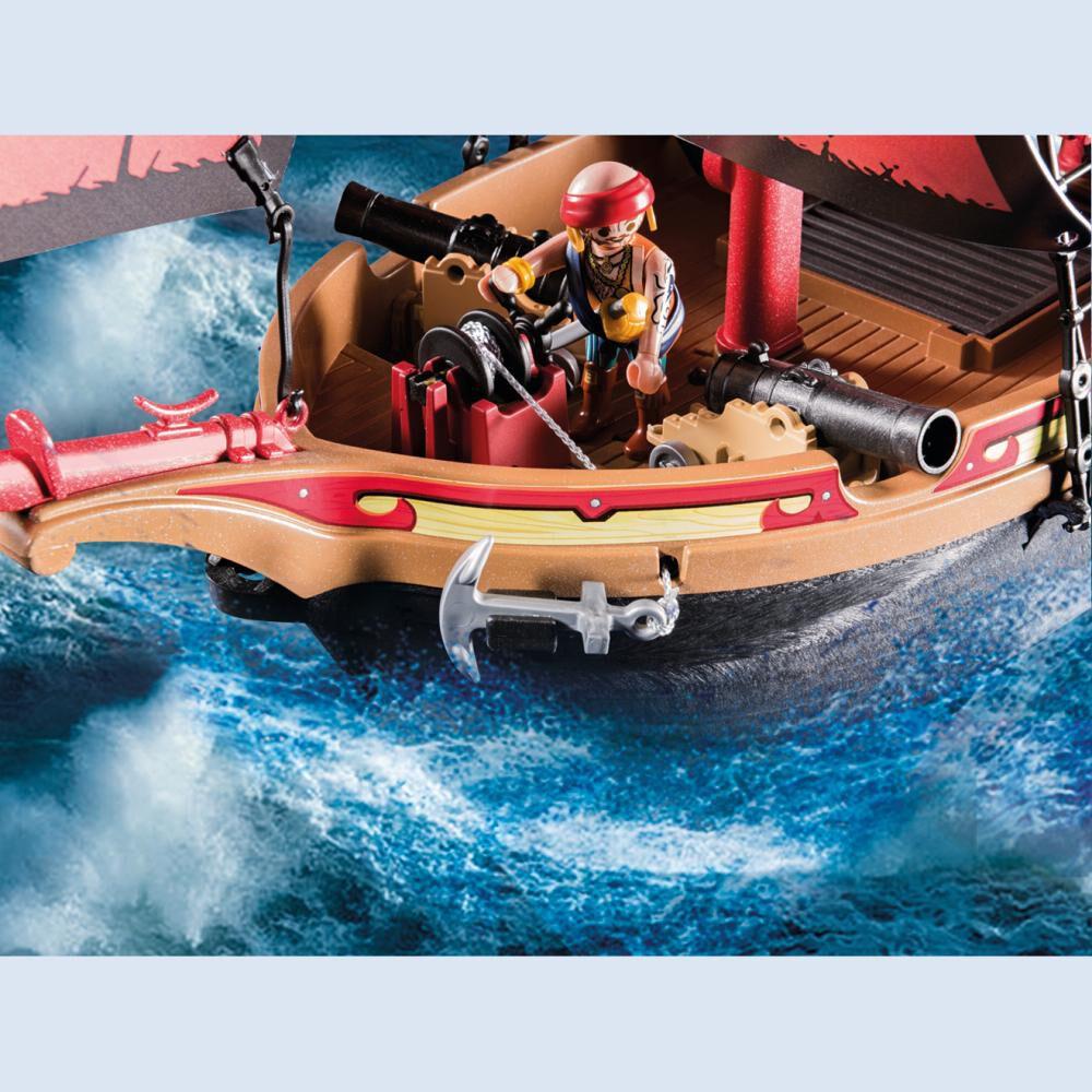 Figura De Acción Playmobil Barco Pirata Calavera image number 4.0