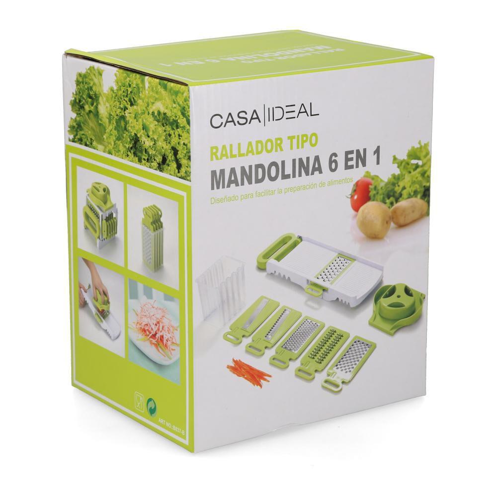 Mandolina 6 En 1 Casaideal / 9 Piezas image number 1.0