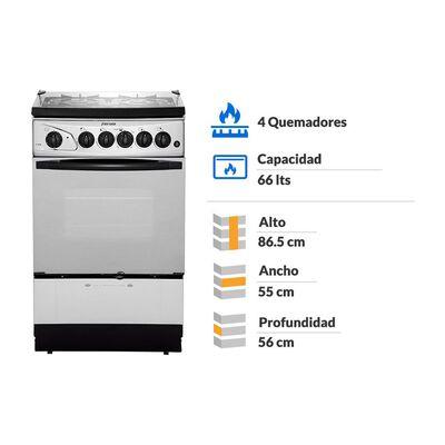 Cocina Fensa F-2808 / 4 Quemadores