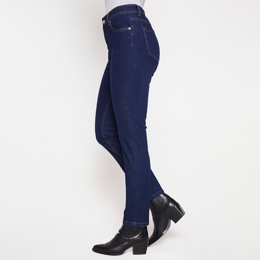 Jeans Tiro Medio Skinny Mujer Geeps image number 4.0