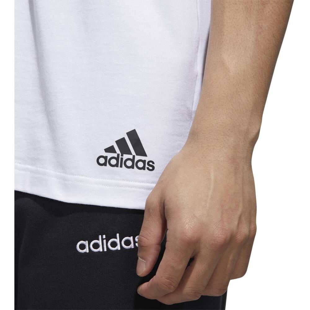 Polera Hombre Adidas Camiseta Essentials Tape image number 7.0