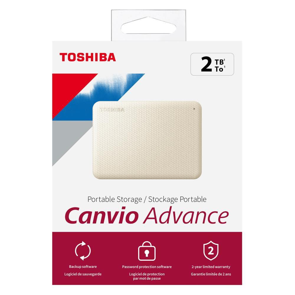 Disco Duro Portátil Toshiba Canvio Advance V10 / 2 Tb image number 7.0