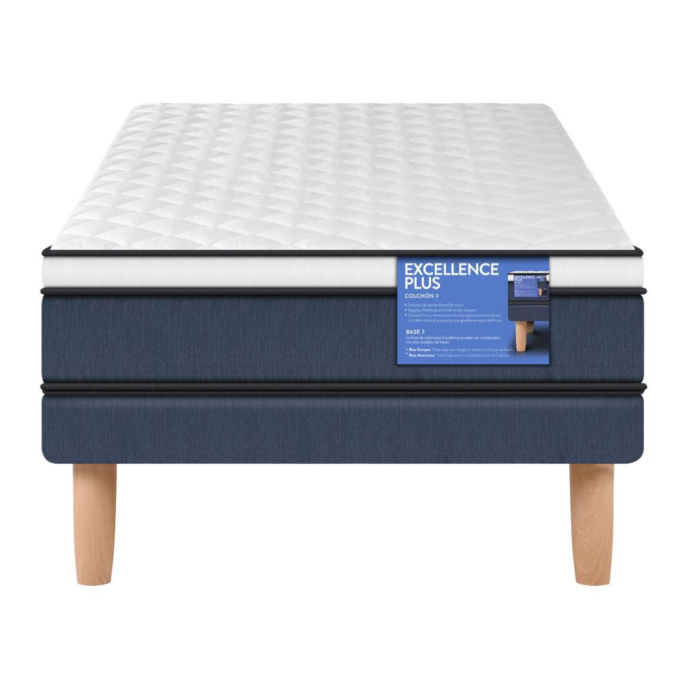 Cama Europea Cic Excellence Plus / 1 Plaza / Base Normal image number 0.0