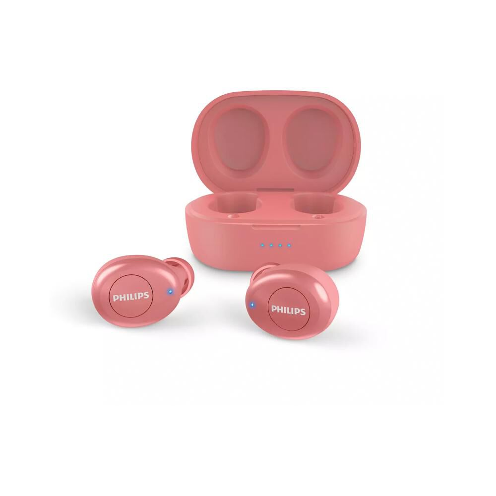 Audífono Bluetooth True Wireless Philips TAT2205 Rojo image number 3.0