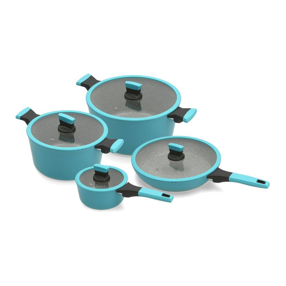 Bateria De Cocina Kitchenware Soho 8 Pz / 8 Piezas image number 0.0
