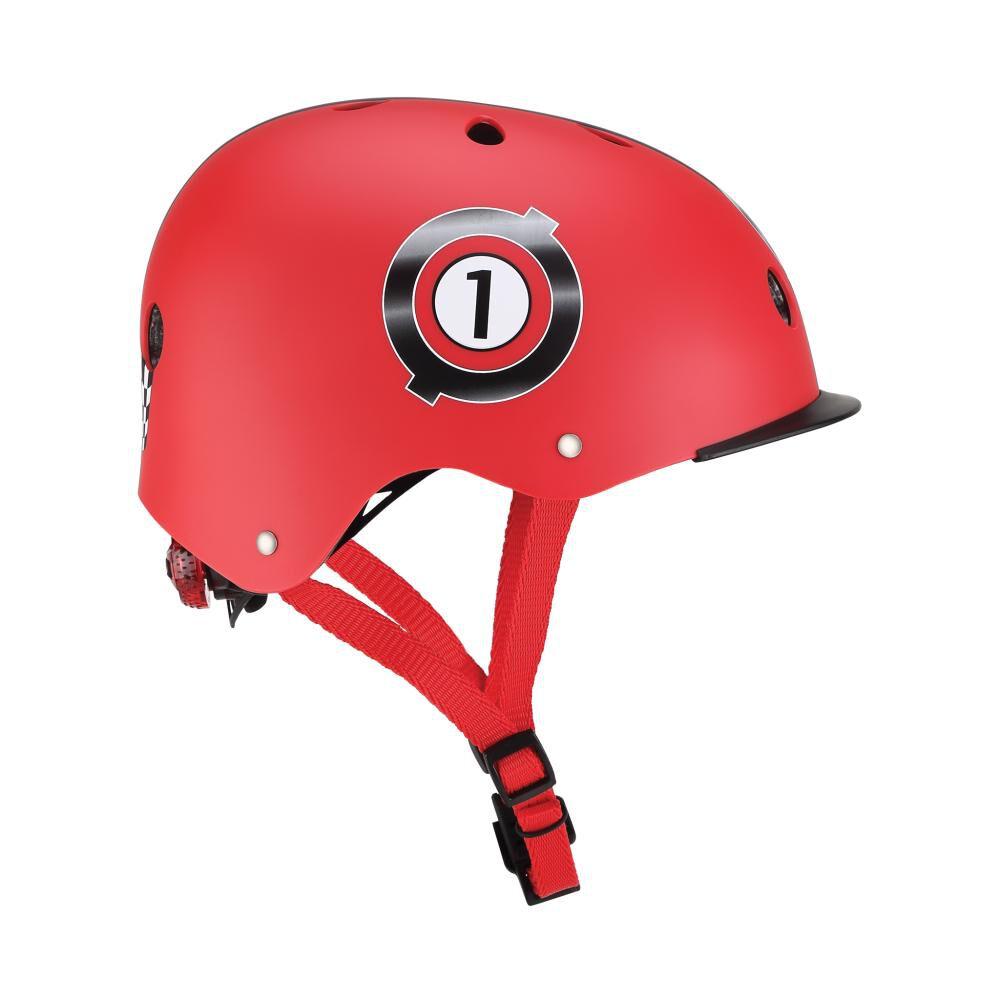 Casco Globber Helmet Elite Lights Red  Xs/S image number 1.0