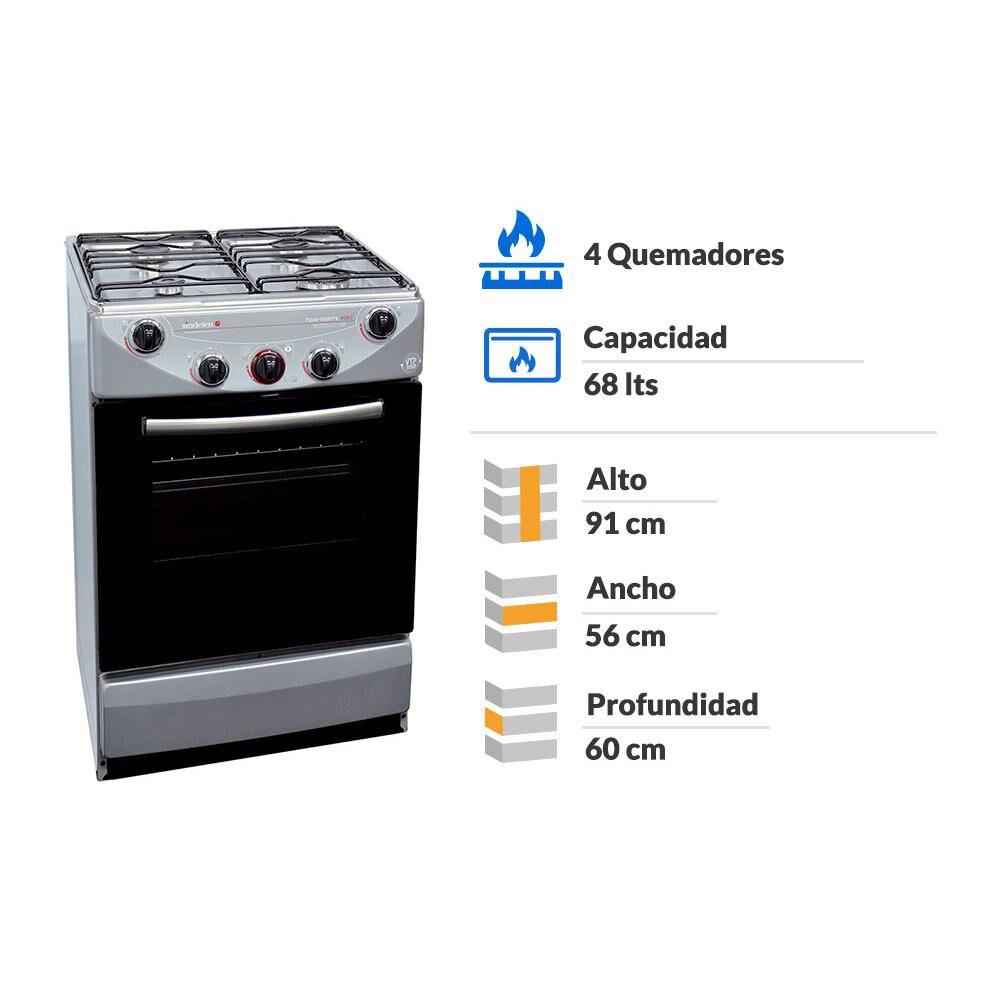 Cocina Sindelen Avanti CH-9050SI-1 / 4 Quemadores image number 1.0