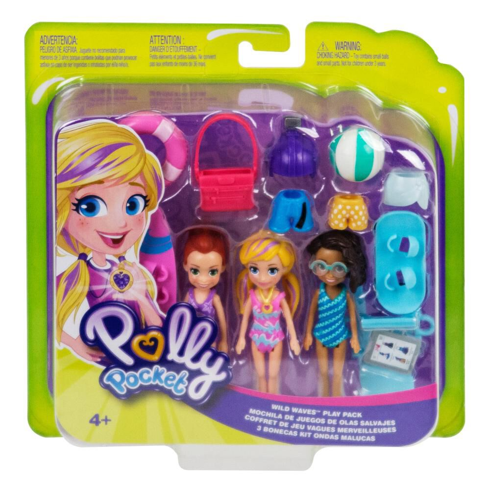 Polly Pocket! Pack 3 Muñecas image number 2.0