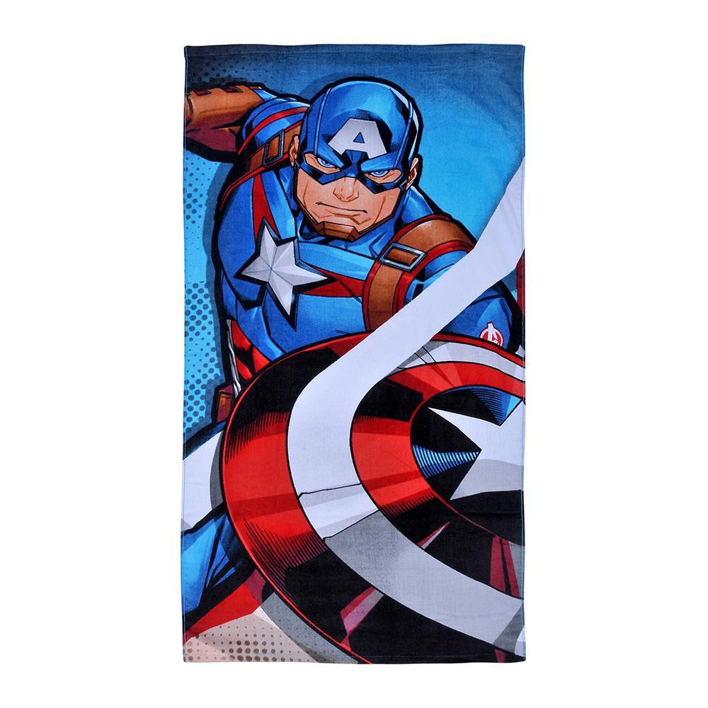 Toalla Playa Avenger Capitán América image number 0.0