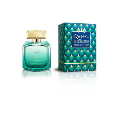 Perfume Queen Of Seduction Absolute Diva Antonio Bandera / 80 Ml / Eau De Toillete