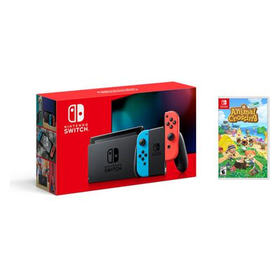 Consola Nintendo Switch Bundle Animal Crossing
