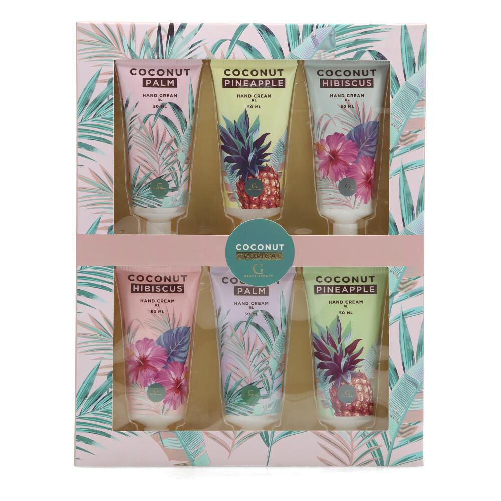 Pack Cremas Geeps Secret Coconut Tropical image number 0.0