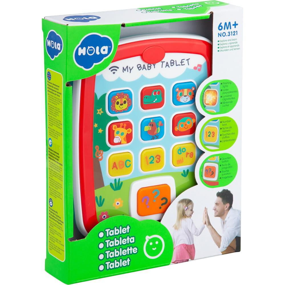 Tablet Interactiva Baby Way Bw-jp23 image number 7.0