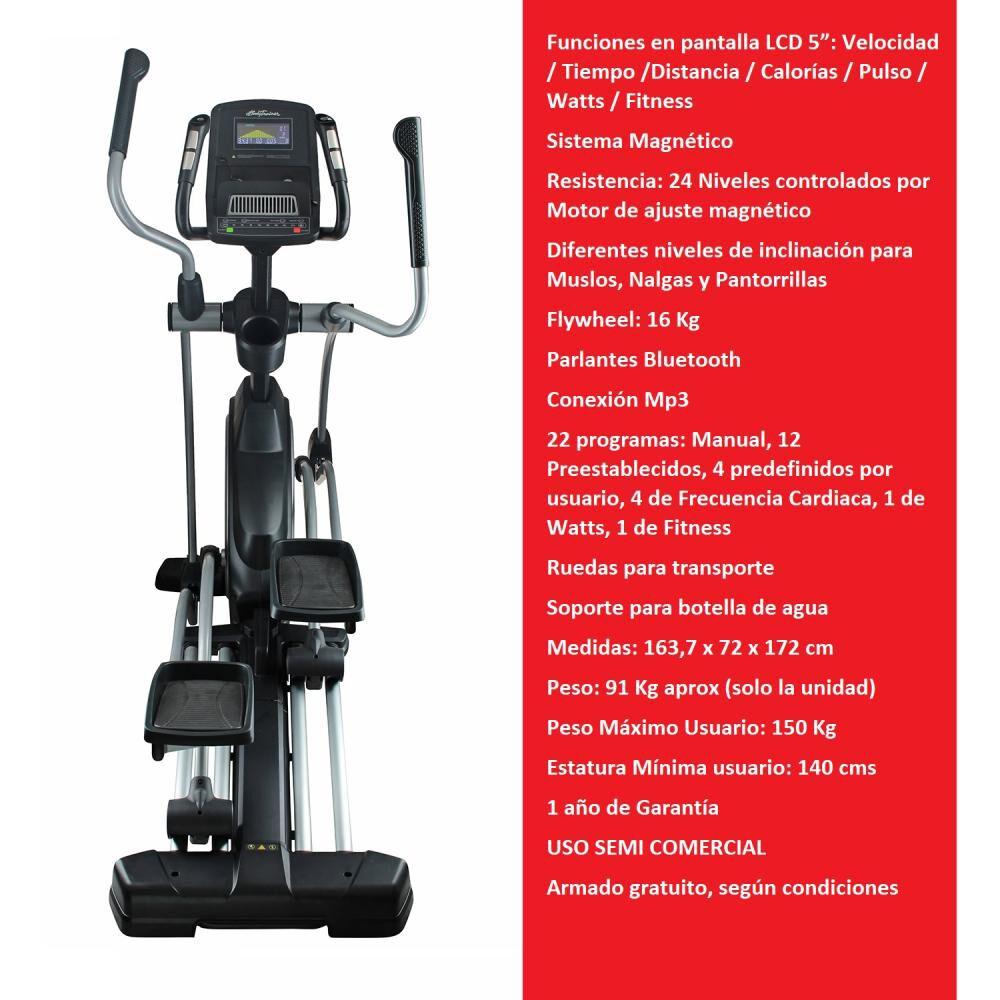 Bicicleta Elíptica Bodytrainer El Elt 900 Mgntc image number 1.0
