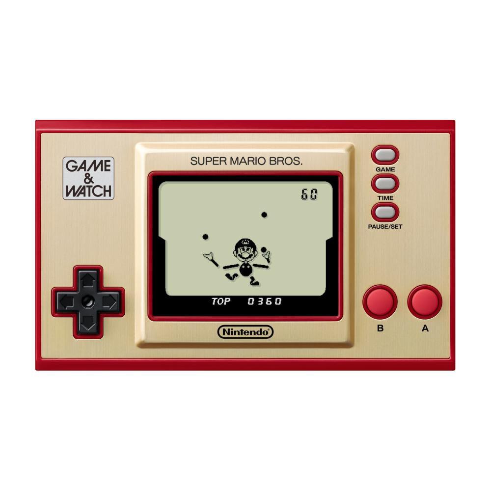 Mini Consola Game & Watch Super Mario Bros image number 4.0