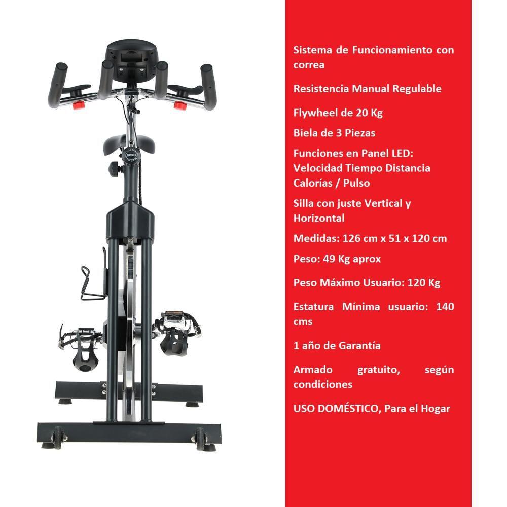 Bicicleta De Spinning Bodytrainer Spn 600b image number 1.0