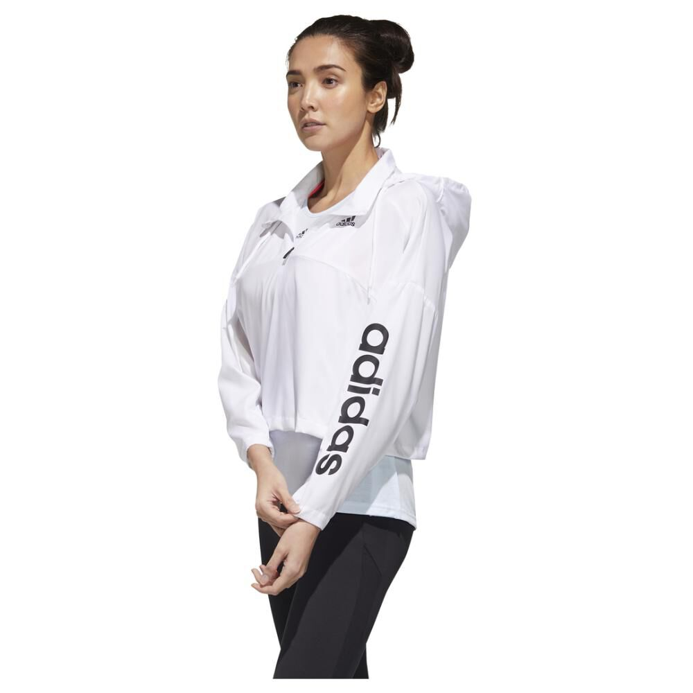 Polerón Deportivo Mujer Adidas Activated Tech image number 7.0