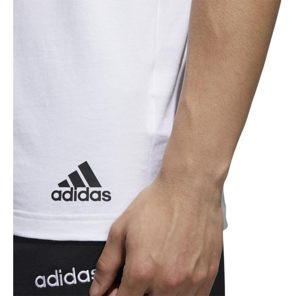Polera Hombre Adidas Essentials Tape T-shirt image number 10.0