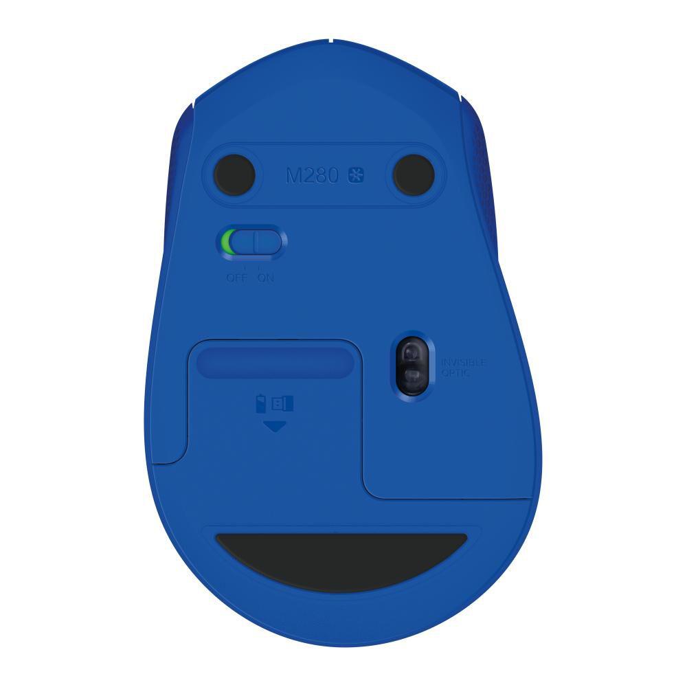 Mouse Inalámbrico Logitech M280 Blue image number 4.0
