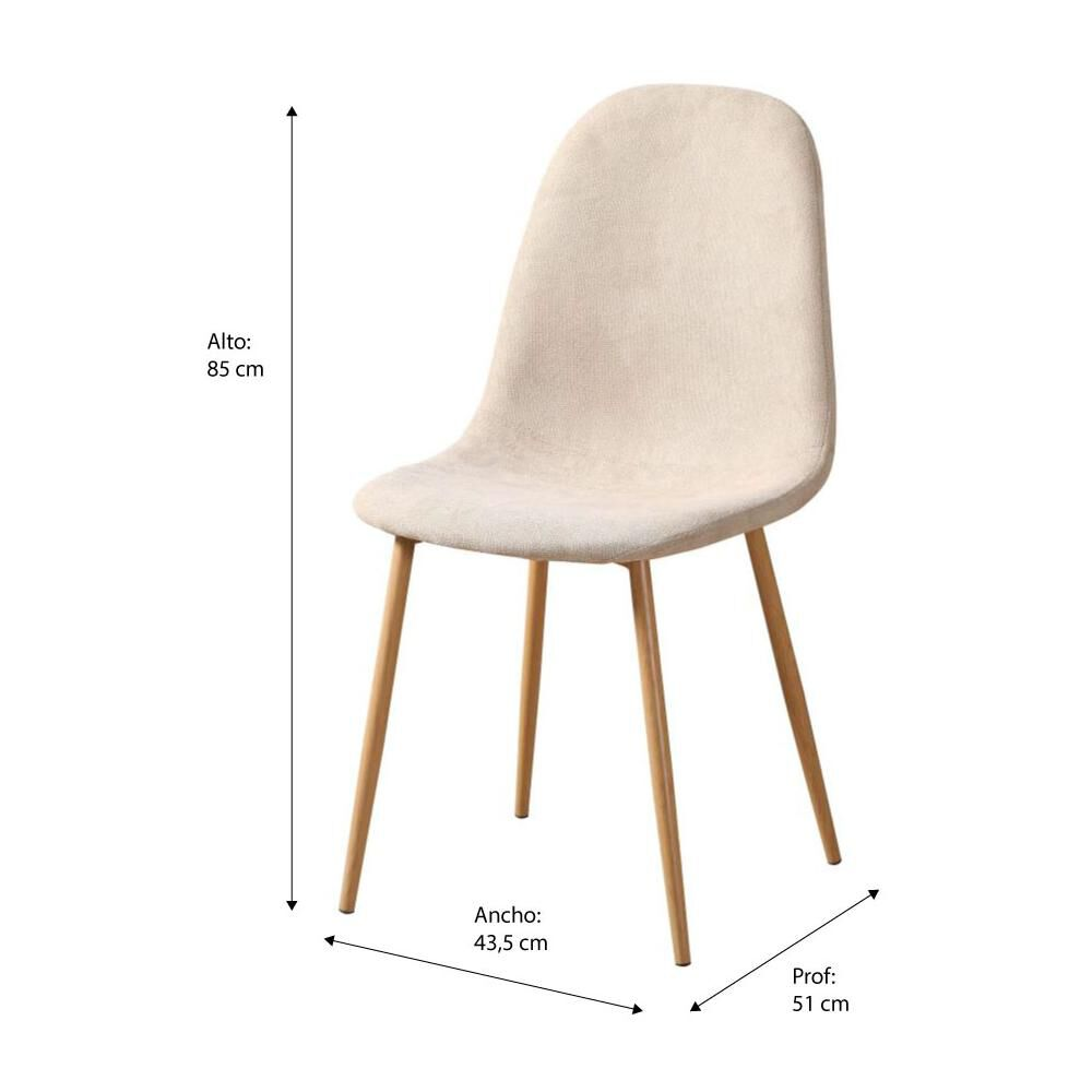 Silla Casaideal Logan image number 1.0