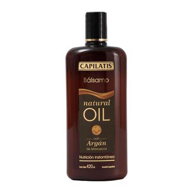 Bálsamo Natural Oil 420 Ml Capilatis