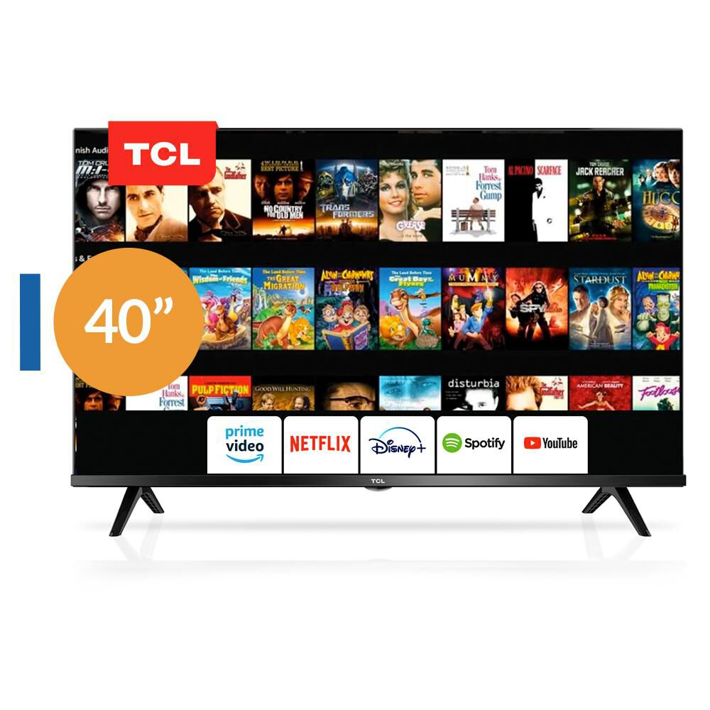 Led Tcl 40s65 Andriod Tv / 40'' / Full Hd / Smart Tv image number 0.0