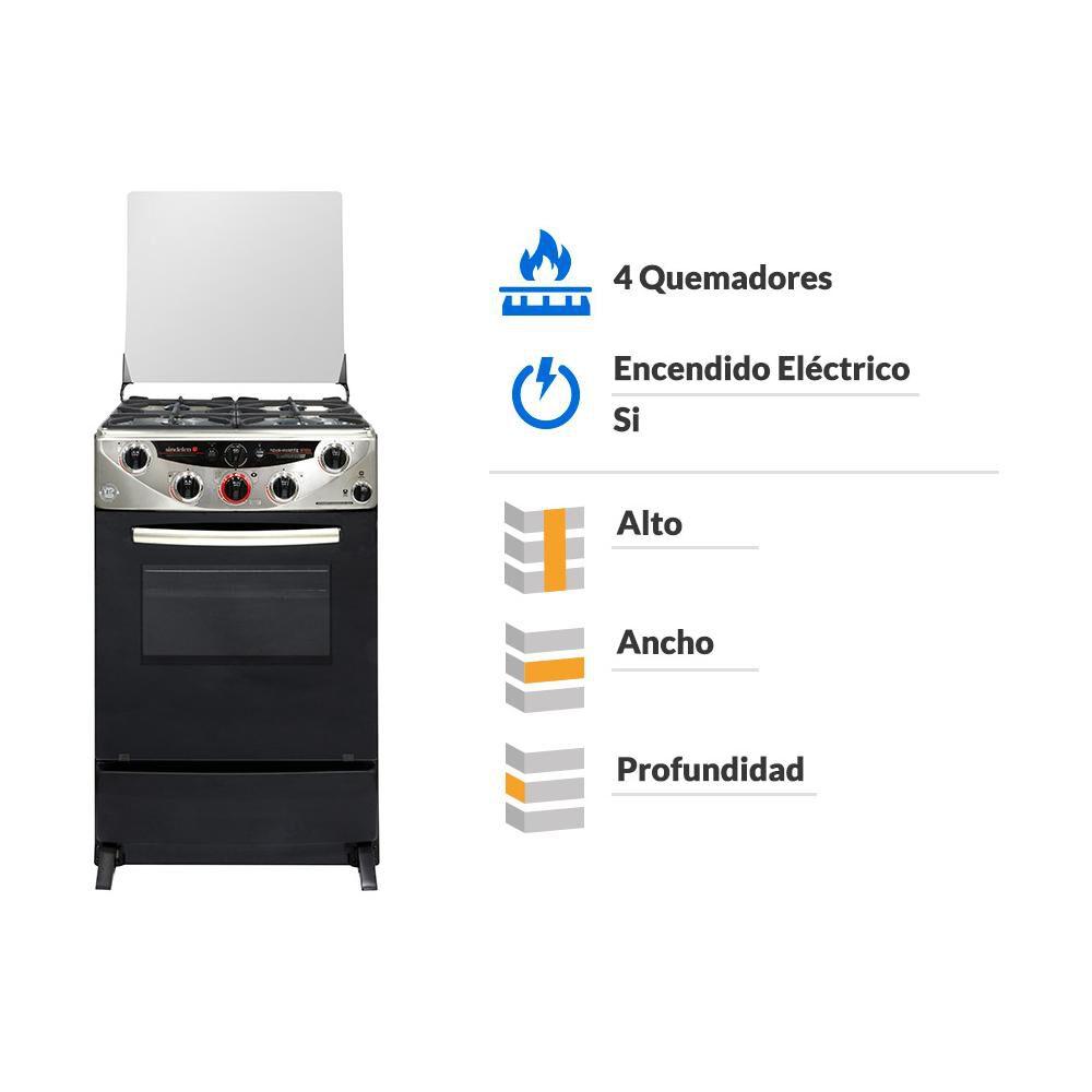 Cocina Sindelen Ch-9700In / 4 Quemadores image number 5.0