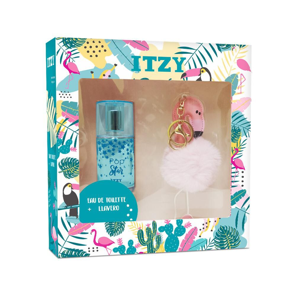 Perfume Mujer Pop Star Itzy / 50 Ml / Eau De Toilette + Llavero image number 0.0