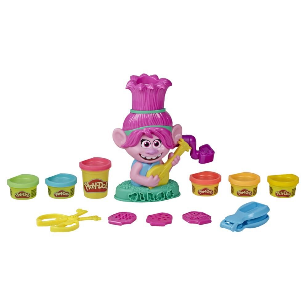 Masas Educativas Play Doh Trolls Poppy Cabello image number 4.0