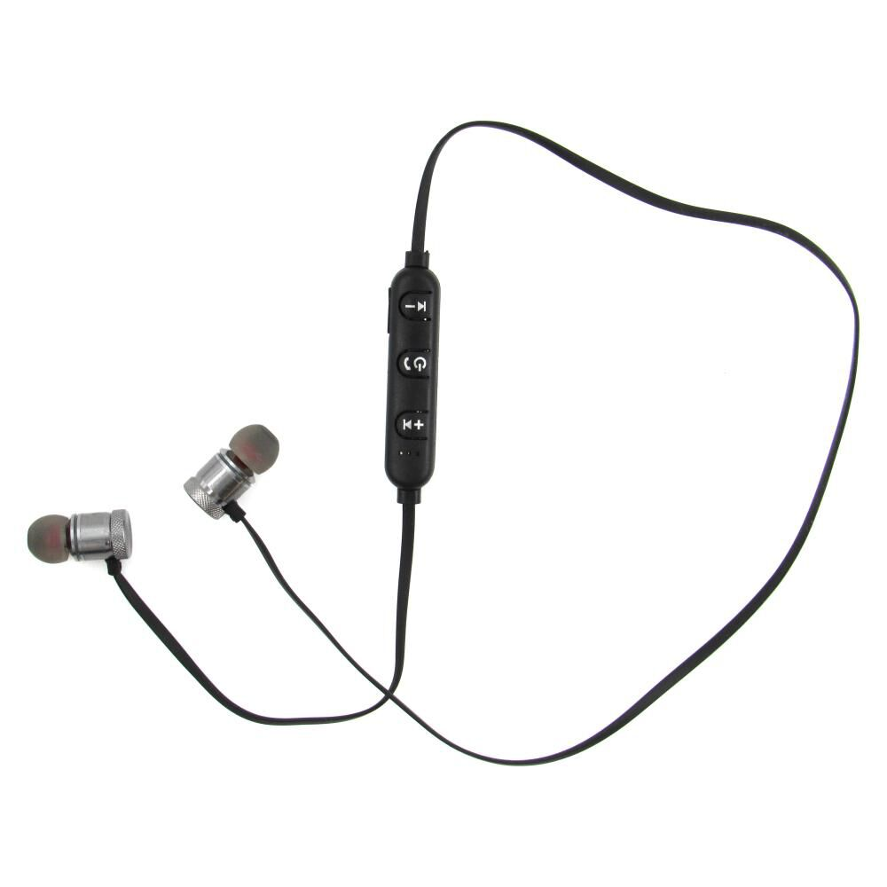 Audífonos Bluetooth Fiddler Magnético Silver image number 1.0