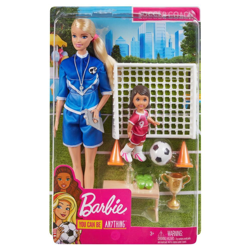 Barbie Careers Muñeca Maestra De Fútbol image number 1.0