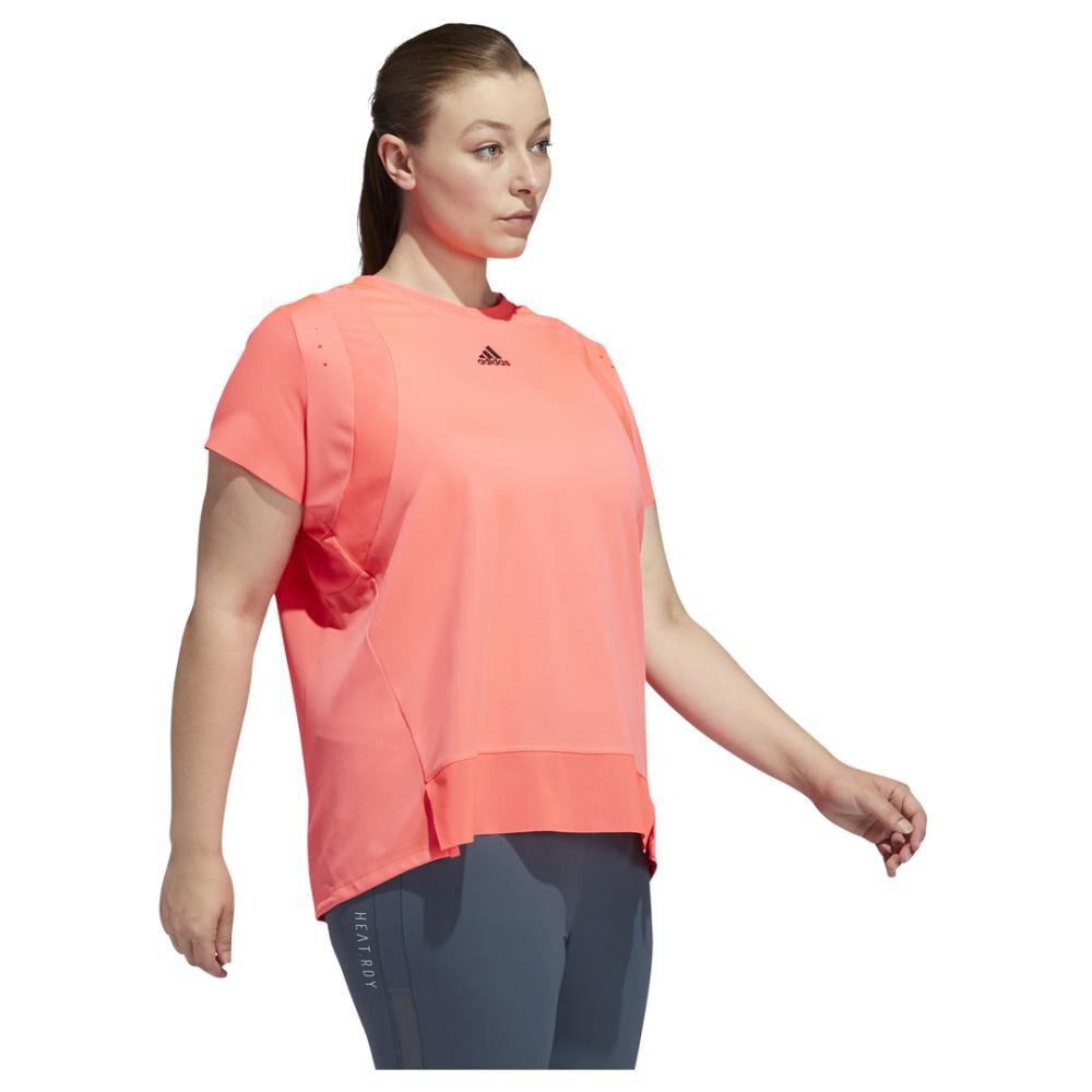 Polera Mujer Adidas Heat.rdy Training image number 2.0