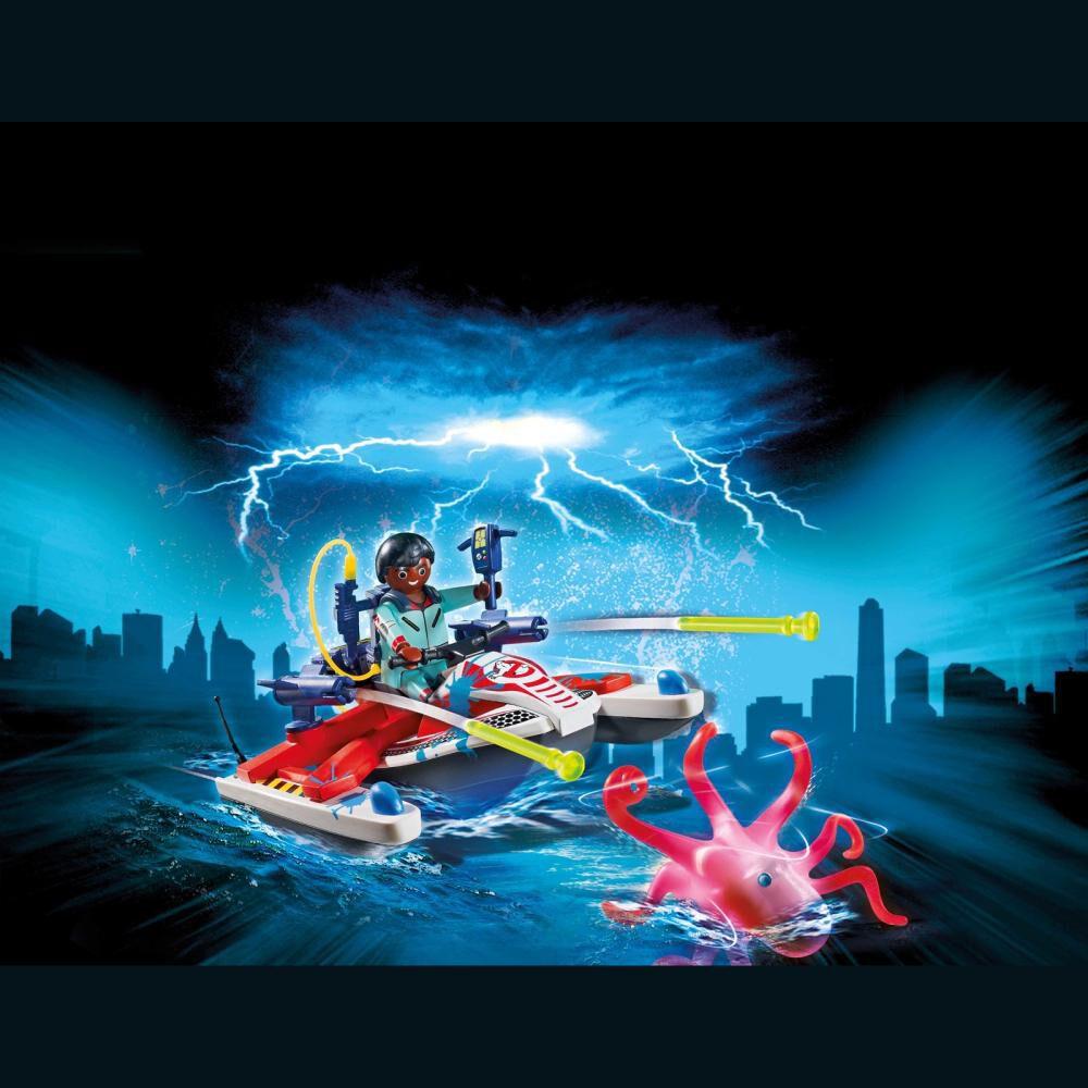 Figura De Acción Playmobil Zaddemore Con Moto De Agua image number 2.0