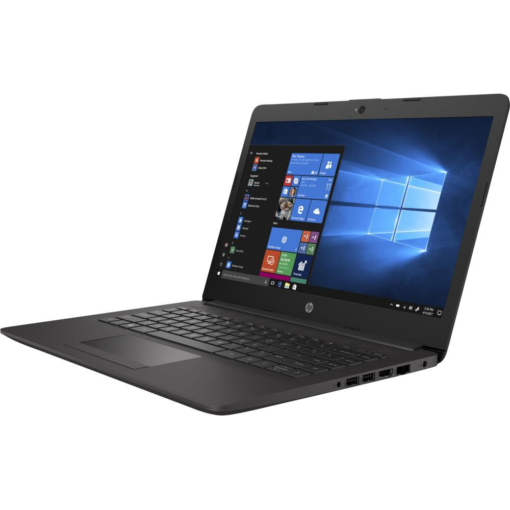 "Notebook Hp 240 G7 / Plateado Ceniza Oscuro / Intel Celeron / 4 Gb Ram / 500 Gb Hdd / 14 "" image number 1.0"