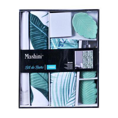 Set De Baño Mashini Jungle / 7 Piezas