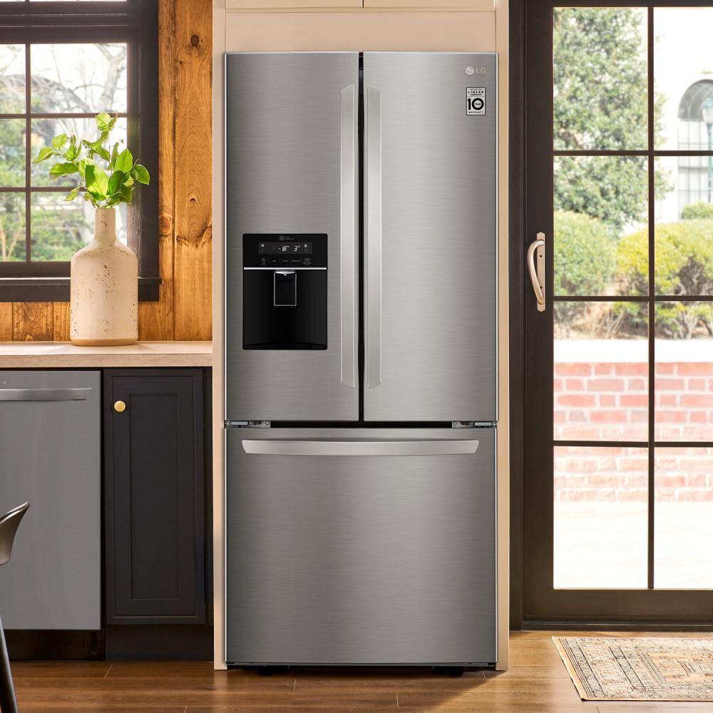 Refrigerador Side By Side Lg French Door LM22SGPK / No Frost / 533 Litros image number 8.0