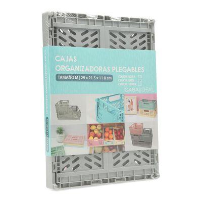Caja Organizadora Casaideal Pequeña Gris