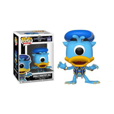 Figura De Acción Funko Pop Disney Kh3 Donald Monster Inc